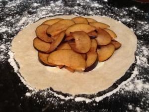 Pie filling.